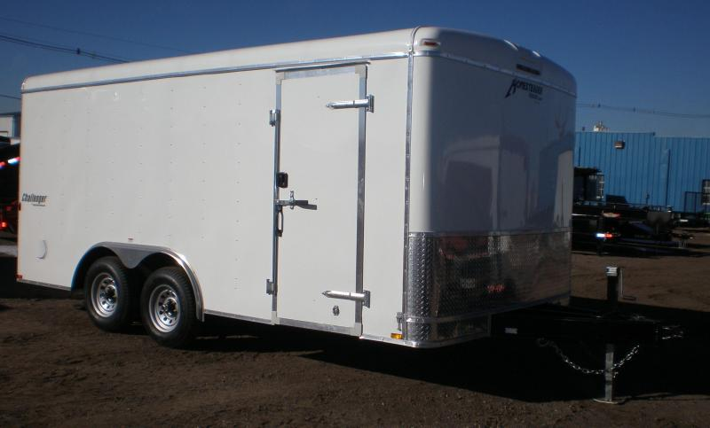 2018 Homesteader 8x16 Enclosed Cargo Trailer 10K