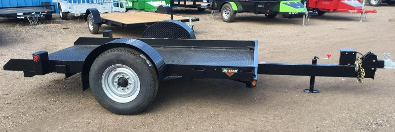 2017 Butler Tilt Flatbed Equipment Transport Trailer 7K Axle