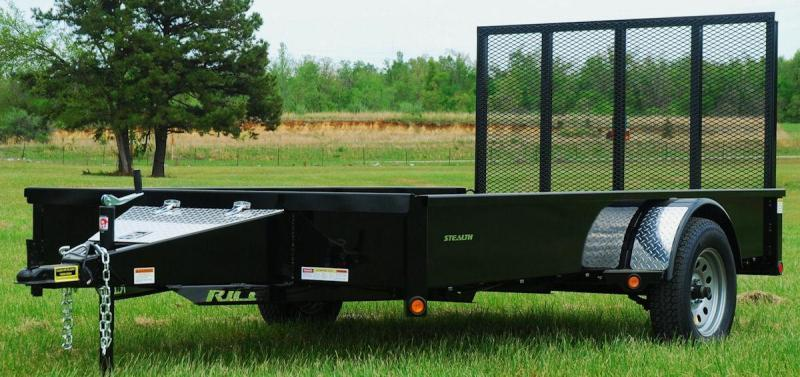 "2017 Rice ""Stealth"" 76x12 Utility Trailer"