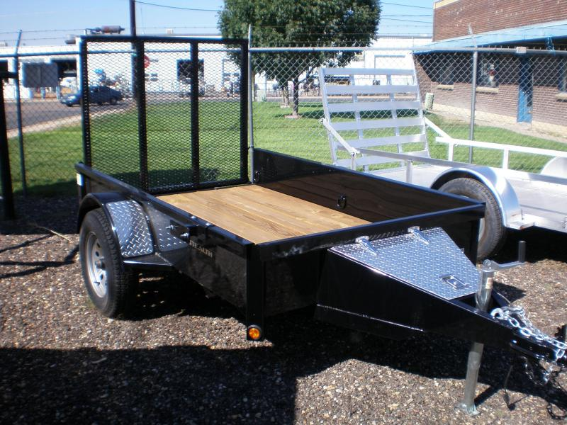 "2018 Rice ""Stealth"" 5x8 Utility Trailer"