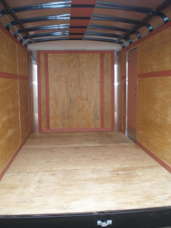 2017 Homesteader 7x12 Enclosed Cargo Trailer