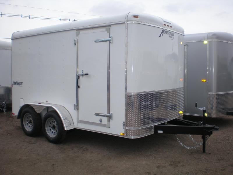 2017 Homesteader 7x12 Enclosed Cargo Trailer