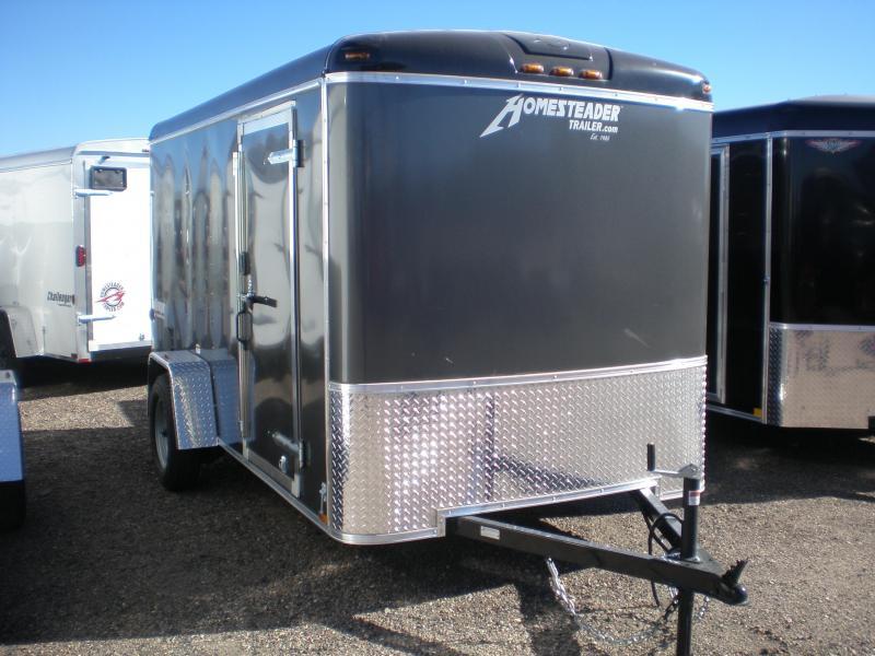 2018 Homesteader 6x12 Enclosed Cargo Trailer