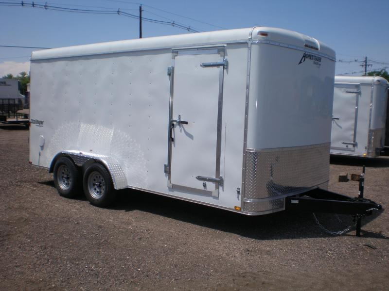2019 Homesteader 7x16 Enclosed Cargo Trailer  Double Doors