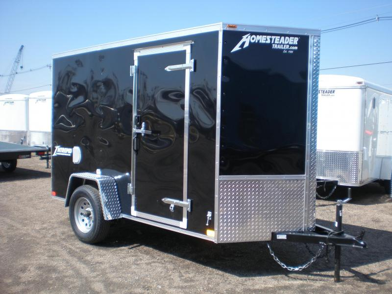 2019 Homesteader 5x10 Enclosed Cargo Trailer - V Nose