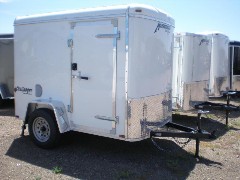 2019 Homesteader 5x8 Enclosed Cargo Trailer W/ Ramp
