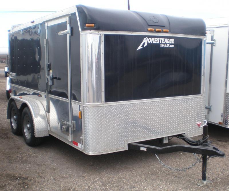 2010 Homesteader 7x12 EZ Rider Enclosed Cargo/Motorcycle Trailer