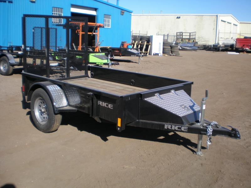 "2018 Rice ""Stealth"" 5x10 Utility Trailer"