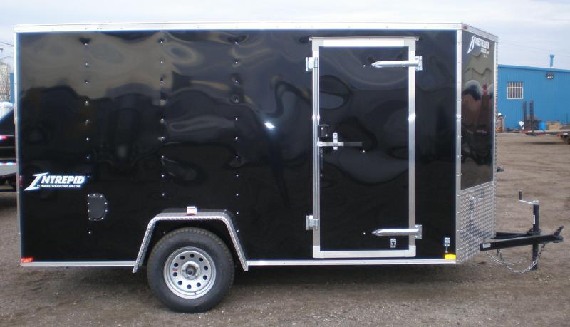 2018 Homesteader 6x12 Enclosed Cargo Trailer - V Nose