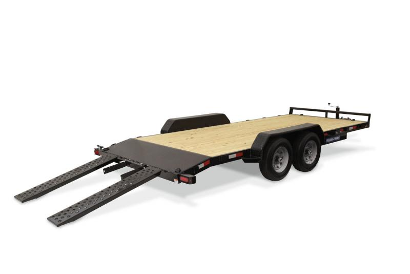 2020 Sure-Trac 7 X 18 7K C-Channel Car Hauler Car / Racing Trailer