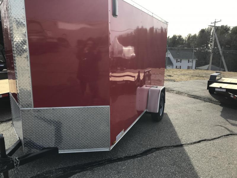 2020 Diamond Cargo 6 X 12 SA Enclosed Cargo Trailer