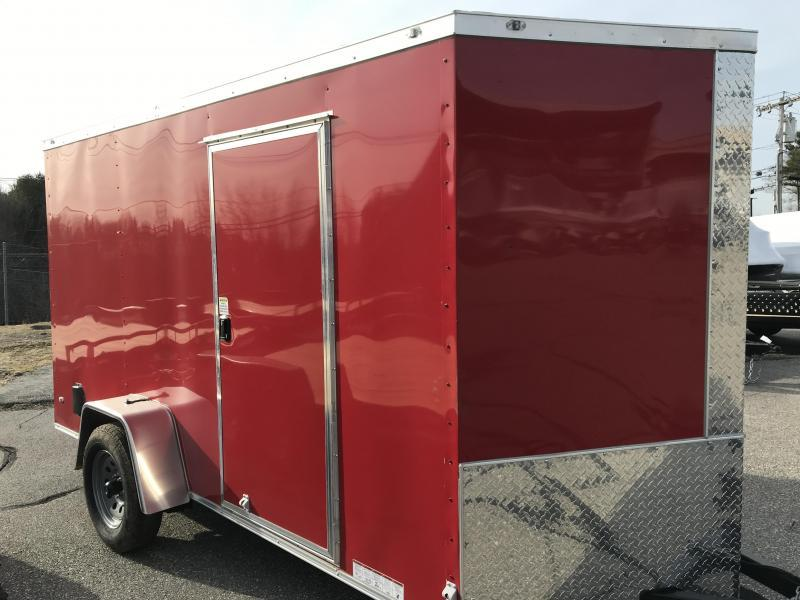 2020 Diamond Cargo 6 X 12 SA Enclosed Cargo Trailer