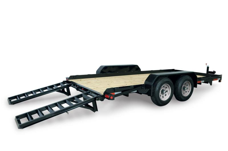 2020 Sure-Trac 80 X 16 14K Skid Steer Equipment Trailer