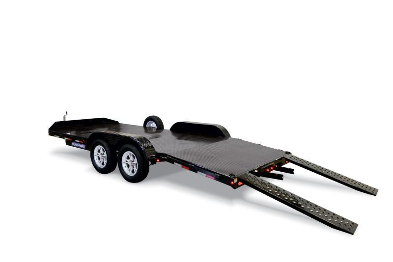 2020 Sure-Trac 7 X 20 10K Steel Deck Car Hauler Car / Racing Trailer