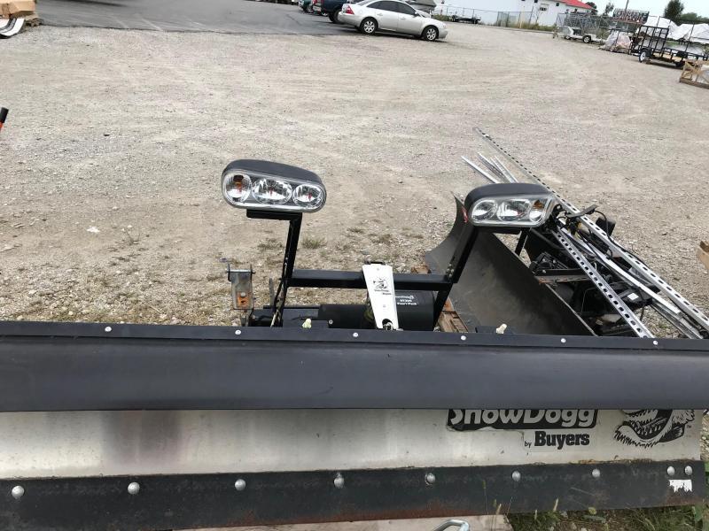 2015 Buyers MD80 Snow Plow