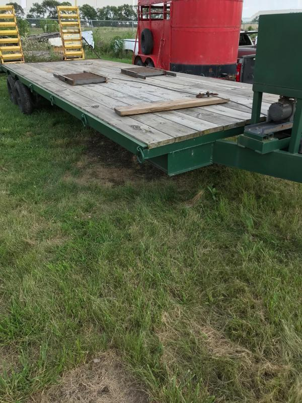 96x22 +3 Equipment Trailer