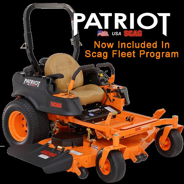 2017 Scag Power Equipment Patriot 52 Zero Turn