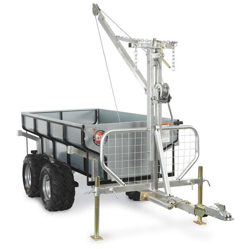 DR Power Yard Cart 1 Ton Versa-Trailer
