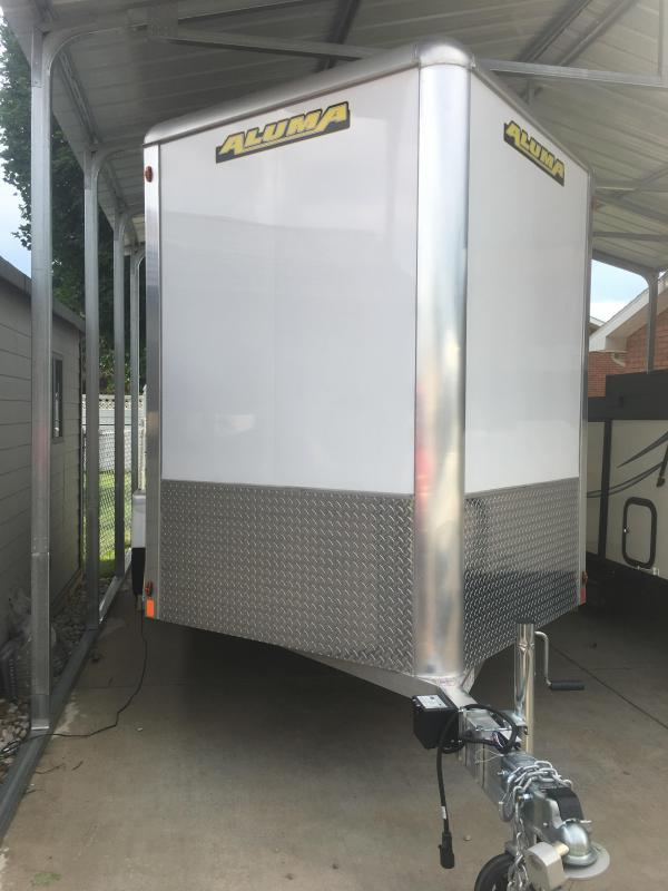 Aluma AE714TA Enclosed Cargo Trailer
