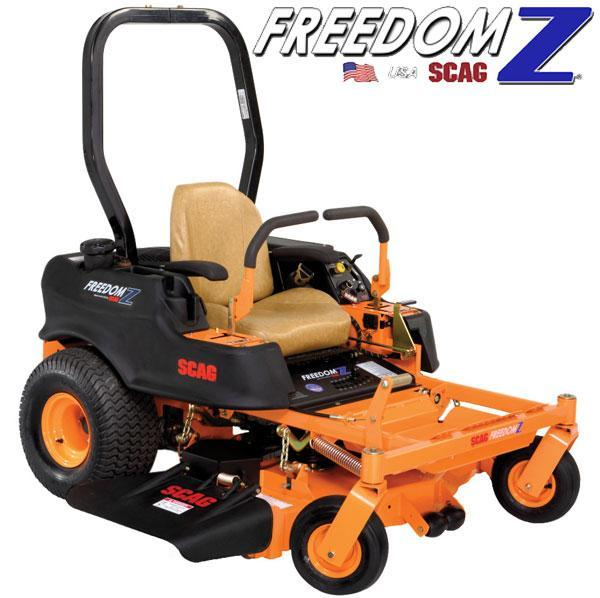 "Scag Power Equipment Freedom Z 52"" zero turn"