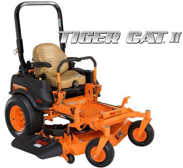 "2017 Scag Power Equipment Tiger Cat II 61"" Zero Turn"