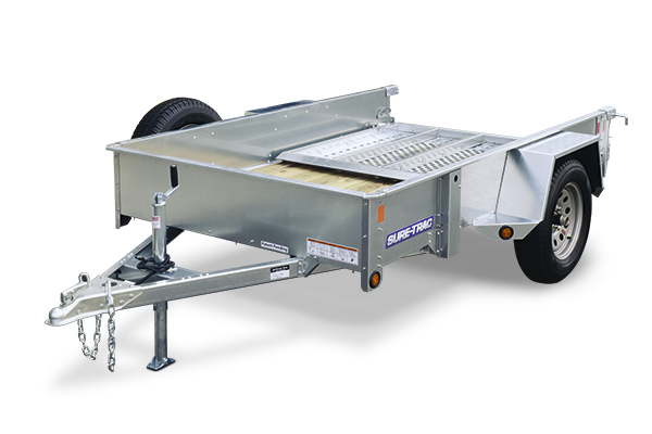 Sure-Trac 5 x 10 Galvanized High Side