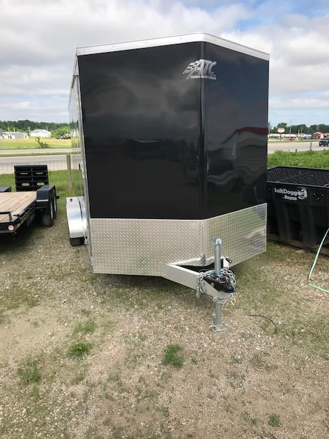 2016 ATC Raven 7 x 16 + 2 Enclosed Cargo Trailer