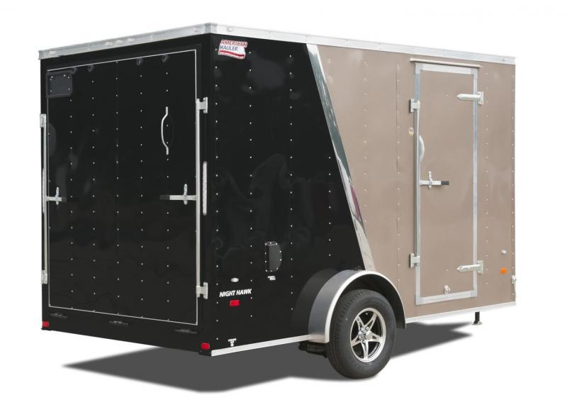 2017 American Hauler Industries NH612SA Enclosed Cargo Trailer with Crossbow Package