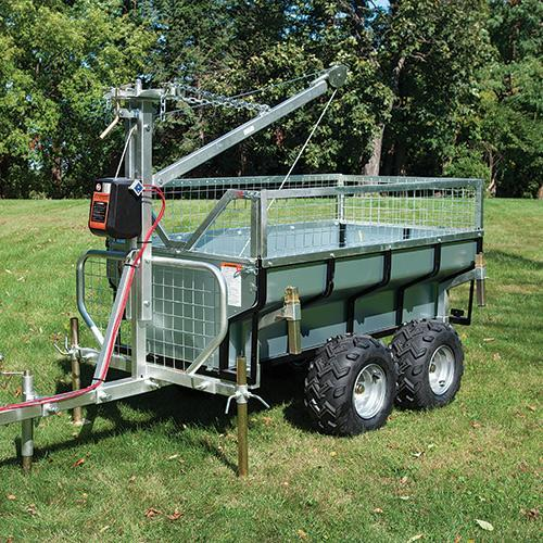 DR Power Yard Cart 1 Ton Versa-Trailer Pro Package