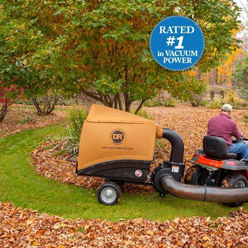 DR Power Equipment Leaf and Lawn Vacuum PREMIER-200 Electric Start Material Handling