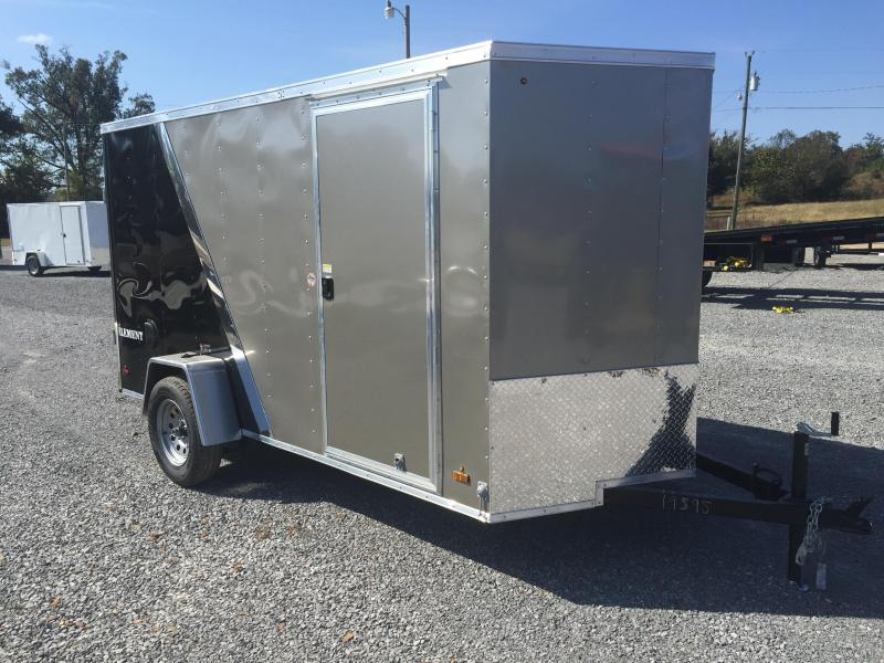 2016 Look Trailers 6'X12' Enclosed Trailer