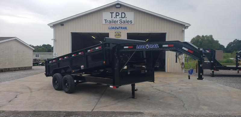 "2019 Load Trail 83""X16' Gooseneck Dump Trailer"