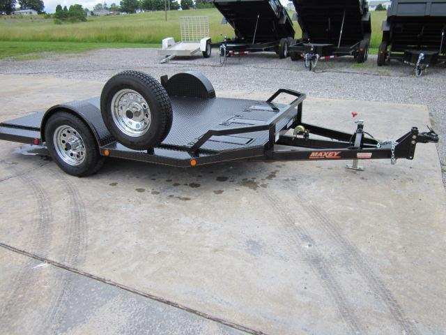 2015 Maxey MT10 Motorcycle Trailer