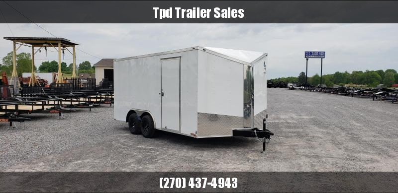 2019 Spartan 8.5'X16' Enclosed Trailer
