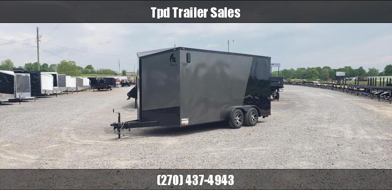 2019 Spartan 7'X16' Enclosed Trailer
