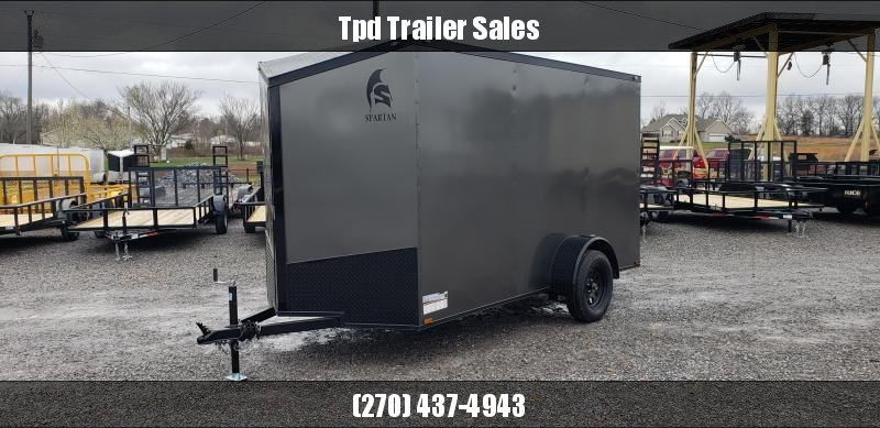 2019 Spartan 6'X12' Blackout Enclosed Trailer