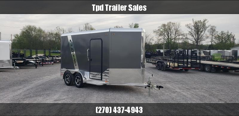 2019 Legend 7'X15' Aluminum Enclosed Trailer
