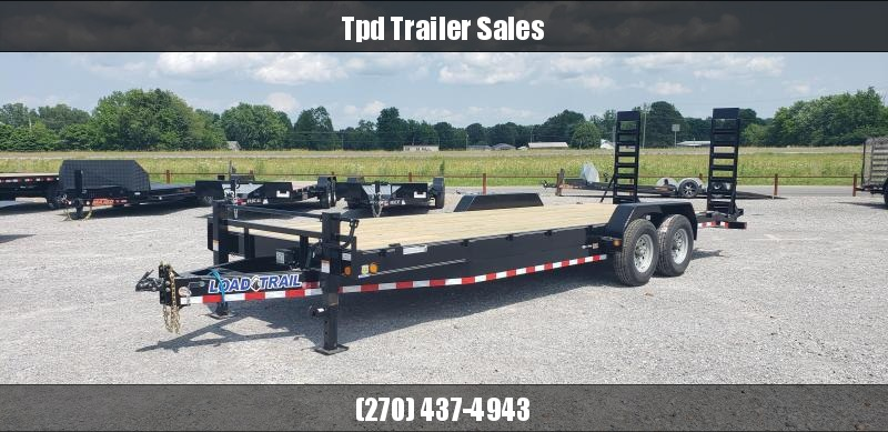 "2019 Load Trail 83""X24' Equipment Trailer"