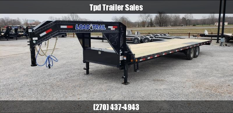 "2019 Load Trail 102""X30' Gooseneck Flatbed Trailer"