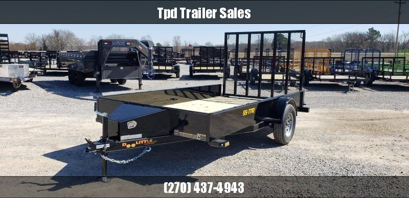 "2019 Doolittle 77""X12' Utility Trailer"