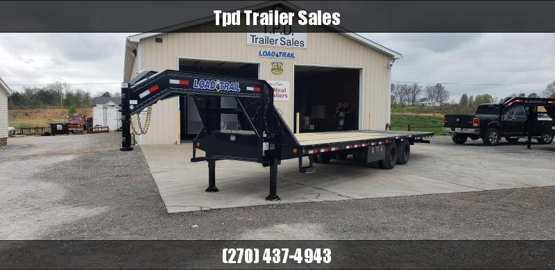 "2019 Load Trail 102""X32' Hyd Dove Gooseneck Trailer"