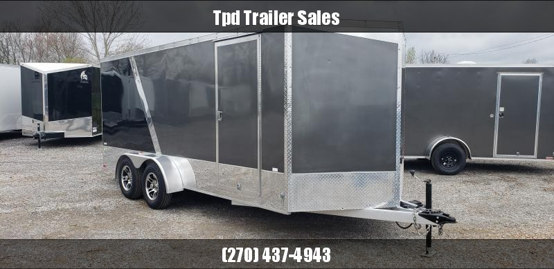 2010 NEO 7'X16' ALL ALUMINUM Enclosed Trailer
