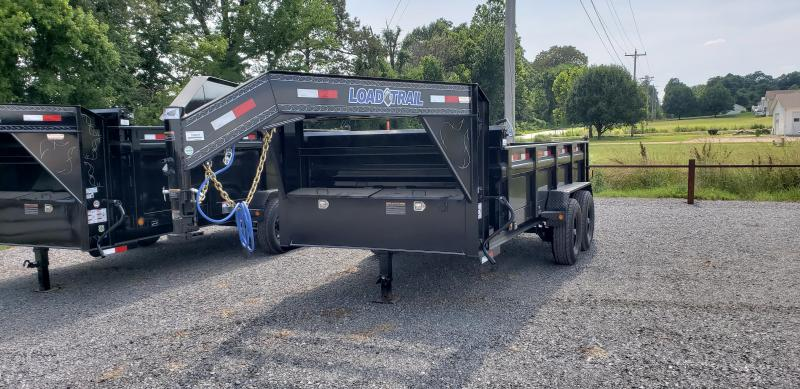 "2018 Load Trail 83""X14' Gooseneck Dump Trailer"