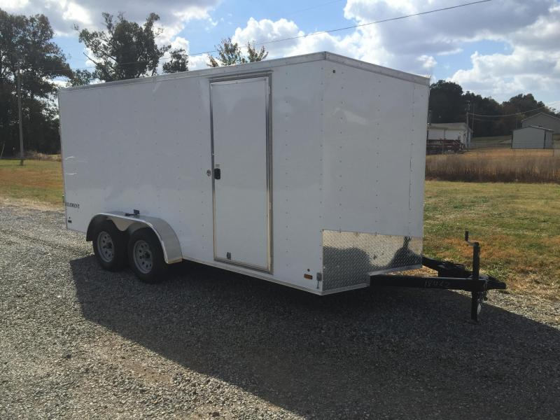 2016 Look Trailers 7'X16' Enclosed Trailer