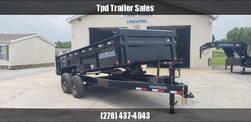 "2019 Load Trail 83""X16' Dump Trailer"