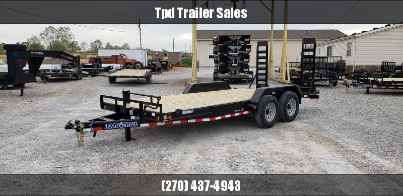 "2020 Load Trail 83""X18' Equipment Trailer"