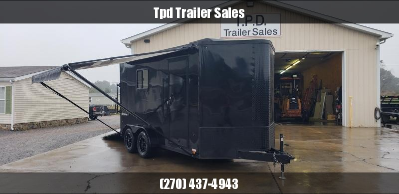 2019 Pace 7'X14' DECKED OUT Enclosed Trailer
