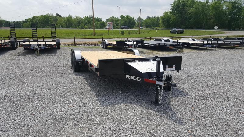 "2019 Rice 82""X20' Equipment Trailer"