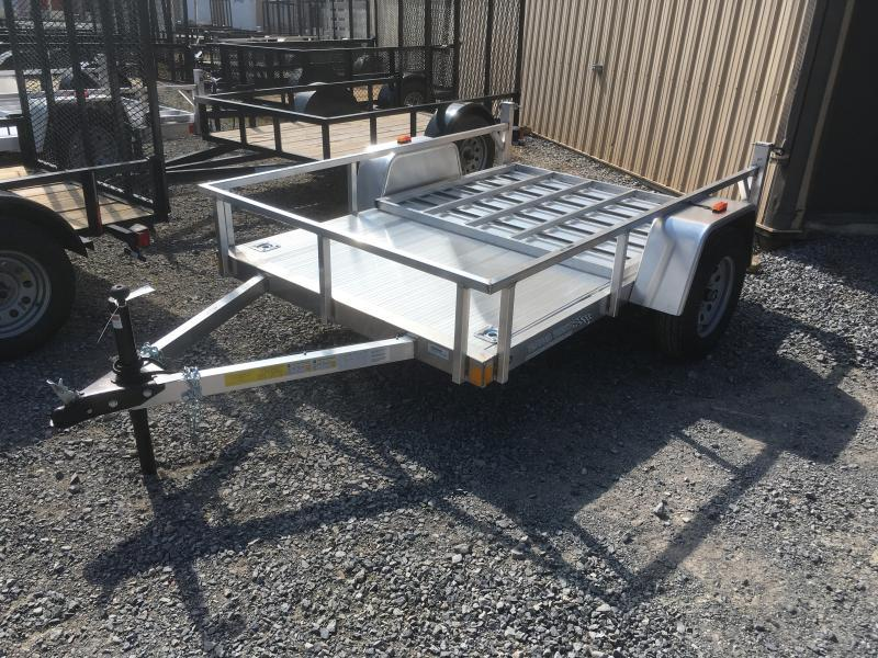 2019 Forest River Inc. 5.5x8 all aluminum w/gate Utility Trailer