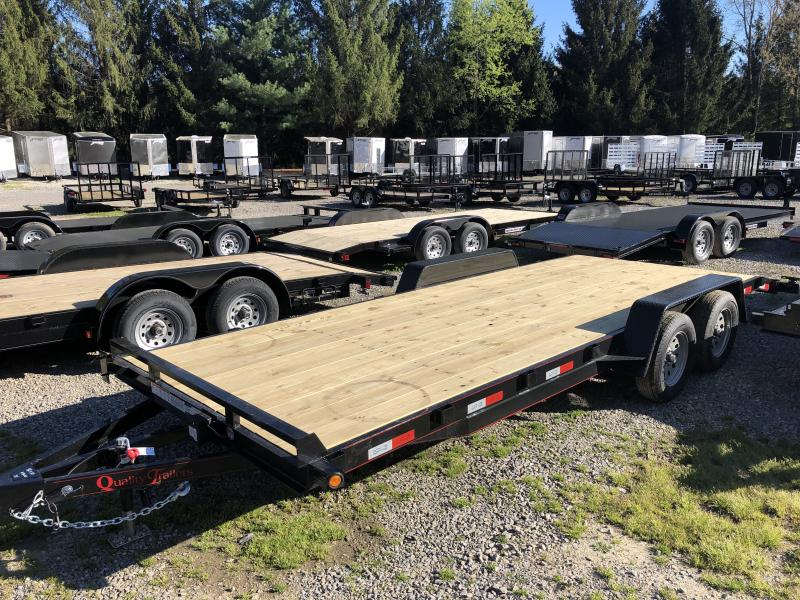 2019 Quality Trailers 82x20 bumper pull wood car hauler Trailer